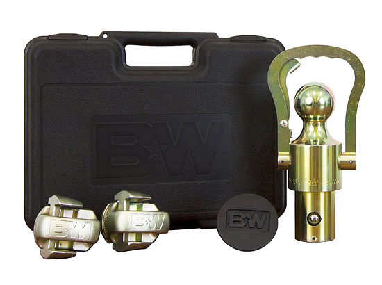 B&W GNXA2062 OEM Ball & Safety Chain Kit for Dodge / Ram