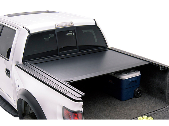 "2003-2009 Dodge Ram 2500 with 6' 4"" Bed - Retrax RetraxOne MX Tonneau Cover w/Stake Pocket Cut Out Rails (Retractable Hard Style, Polycarbonate Matte Finish)"