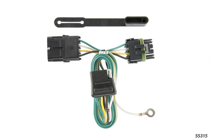 chevy truck 1988 1999 wiring kit harness curt mfg 55315 rh suspensionconnection com Mazda Truck Tail Light Wiring Diagram OEM Tail Light Wiring Harness