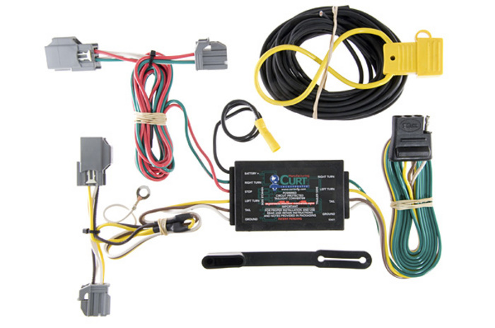 56138_trailer_wiring_kit ford focus 2012 2017 wiring kit harness curt mfg 56138 2002 ford focus radio wiring harness at eliteediting.co
