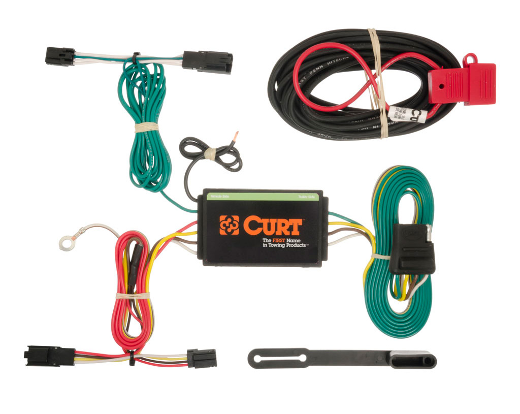 2013-2016 Chevy Malibu Curt MFG Trailer Wiring Kit 56176