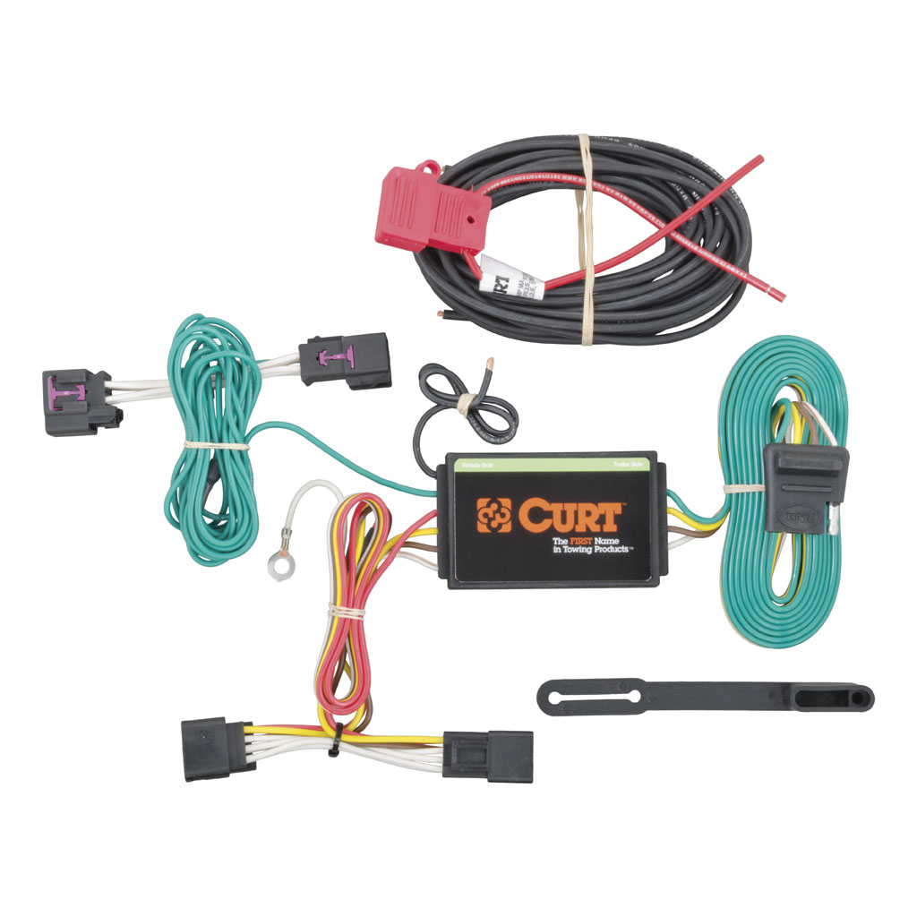 curt mfg 56214 2011 2015 chevy cruze curt mfg trailer wiring kit rh  suspensionconnection com 1978 Chevy Truck Wiring Harness 2004 Chevy Tahoe Wiring  Harness