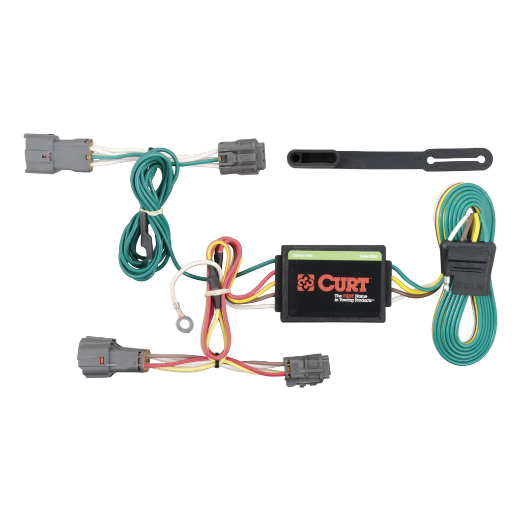 curt mfg 56222 2010 2018 kia soul curt mfg trailer wiring kit rh suspensionconnection com trailer wiring kits over 80 inches boat trailer led wiring kit