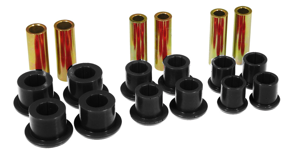 Prothane # 6-1024 - Ford F150 4wd Spring / Shackle Bushings 1997-2003 | SuspensionConnection.com