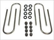 1973-1987 Chevy Suburban 3/4 ton 4wd (lifted with springs or add-a-leafs) - Tuff Country REAR Axle U-Bolts