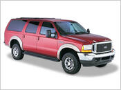 2000-2005 Ford Excursion - Bushwacker OE Style Fender Flares (Front and Rear Set)