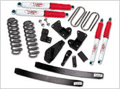 "1981-1996 Ford Bronco 4x4 - 4"" Suspension Lift Kit (includes pitman arm)"