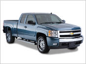 "2007-2013 Chevy Silverado 1500 (with 5' 9"" Bed) - Bushwacker OE Style Fender Flares (Front and Rear Set)"