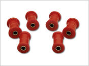 1964-1980 Toyota Landcruiser 4wd - FRONT or REAR Spring Eye & Shackle Bushing Kit
